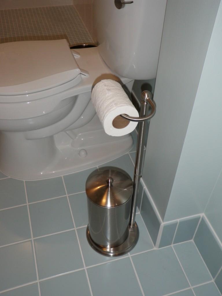 Toilet Paper Holder Wall Insert