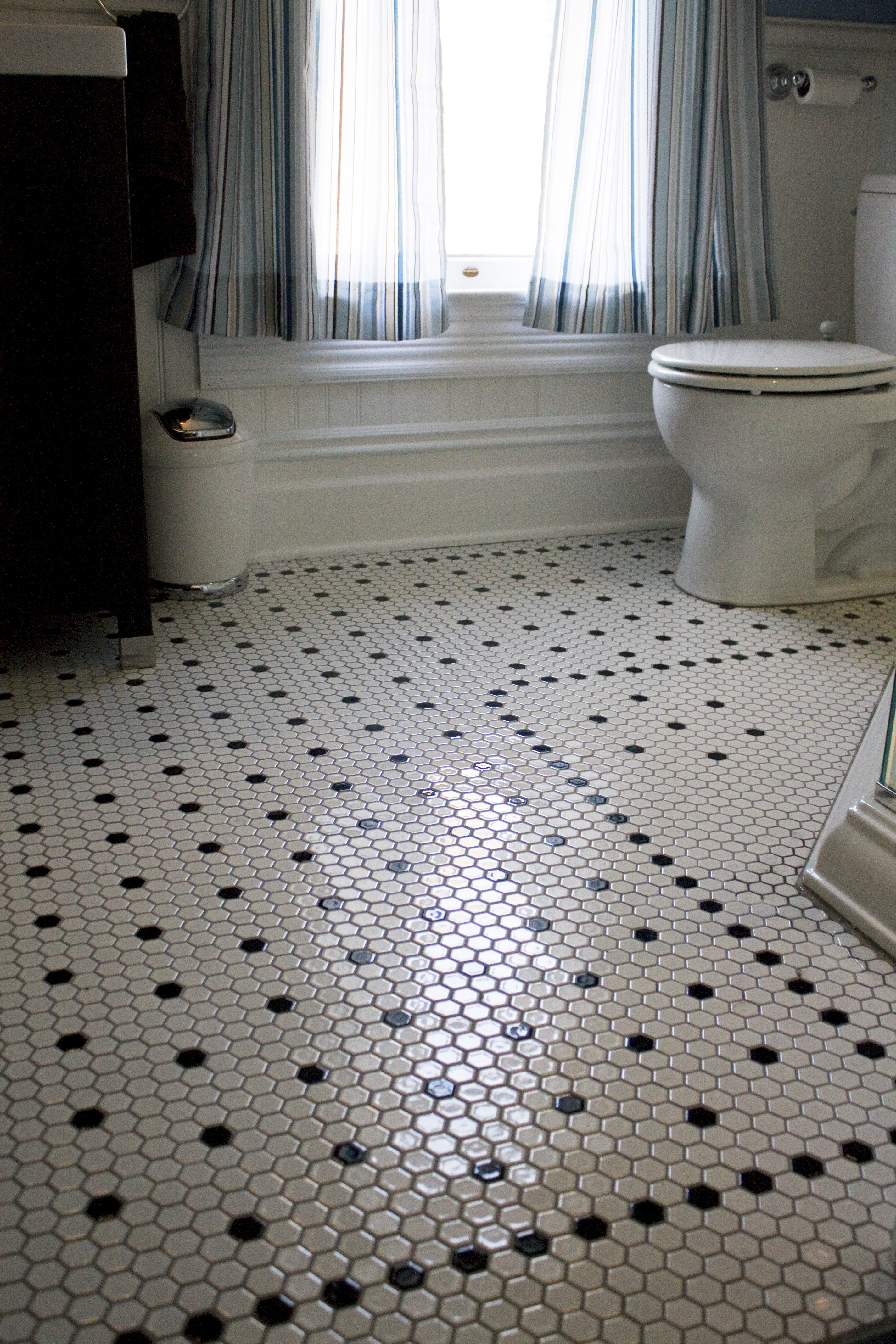 pin and tiles see tile house full of our tour under bathroom floor here bath projects the for midway flooring you can project