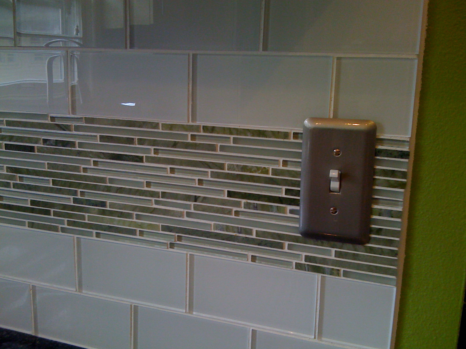 Subway tile backsplash subway tiles and herringbone pattern on pinterest - Bathroom subway tile backsplash ...
