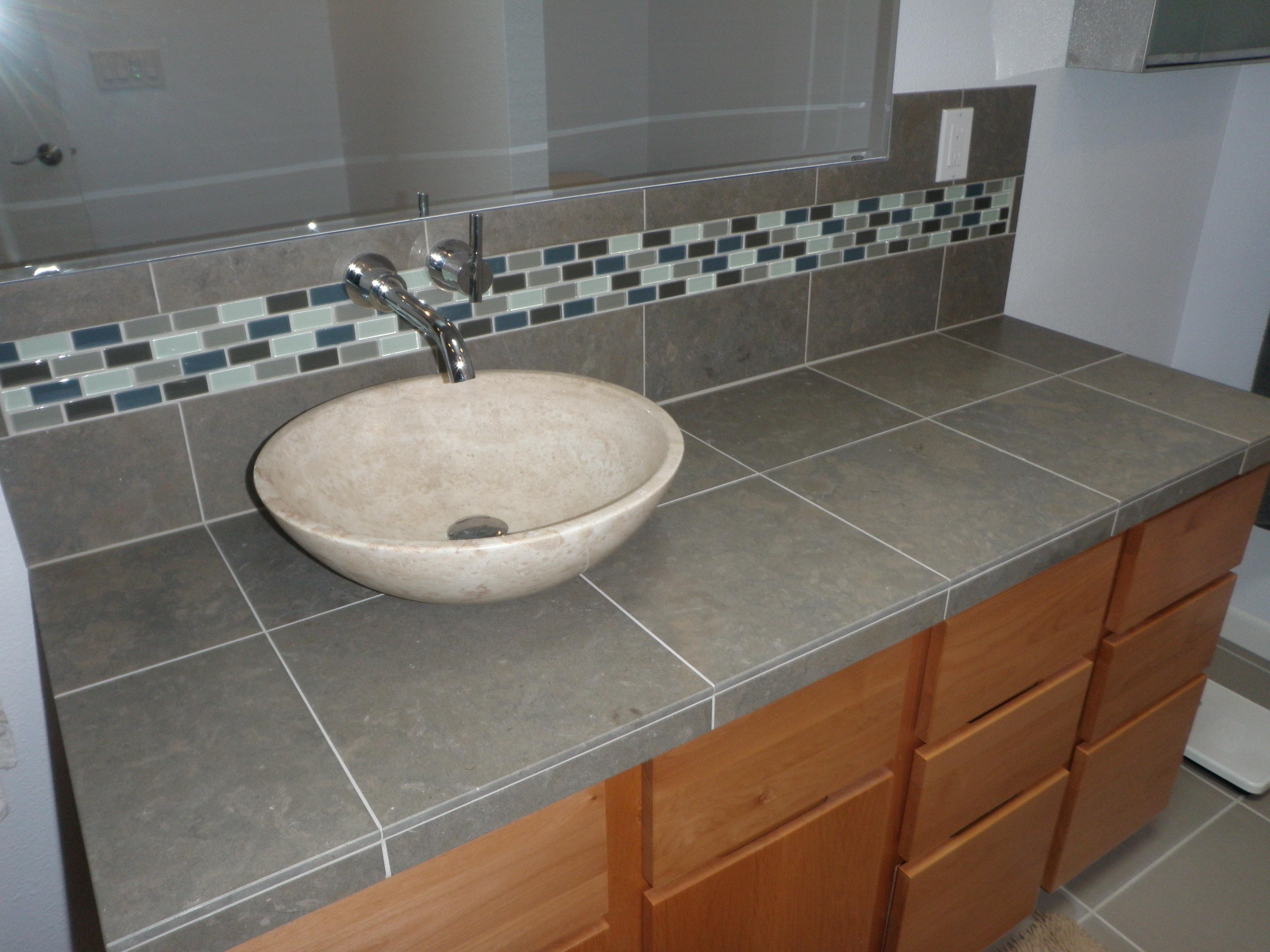 vessel sink | Alex Freddi Construction, LLC.