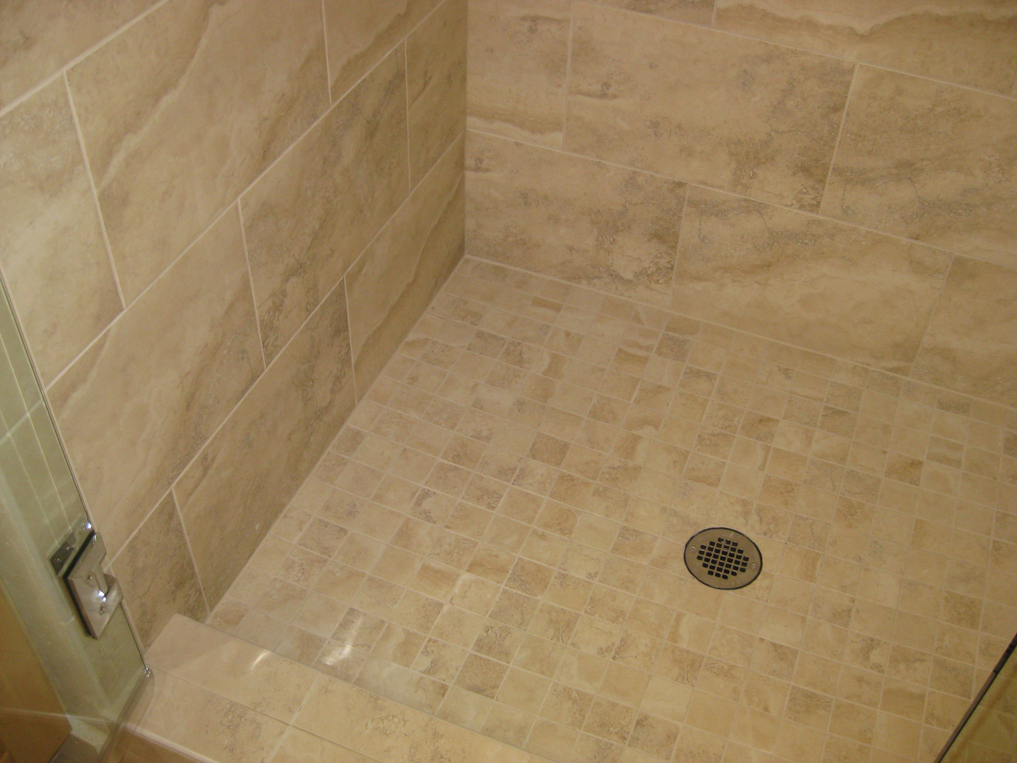 walk-in shower | Alex Freddi Construction, LLC.
