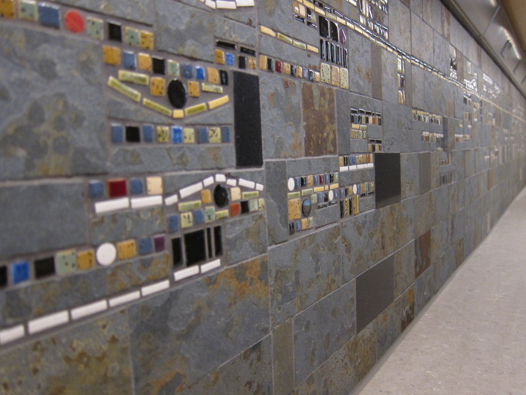 Detail backsplash